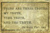 Three Truth Print