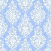 picture of damask  - Vector damask seamless pattern background - JPG