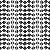 Abstract pattern based on a Traditional African Ornament. Monochrome colors.