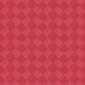 Abstract pattern based on Traditional African Ornament. Warm pink colors.