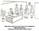Groupthink on Business Team