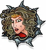 image of beheaded  - Medusa the Gorgon - JPG
