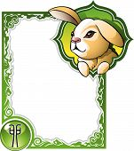 picture of chinese zodiac  - Rabbit - JPG