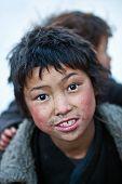 Tibetan Boys, Nepal