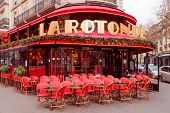 Paris. Cafe La Rotonde.