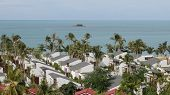 Scenic Views Of The Landscapes With Architectural Elements In Koh Samui
