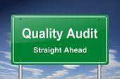 quality audit sign