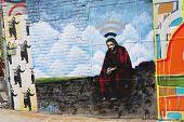 Mural art in Astoria section in Queens