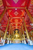 Interior Of Wat Chet Yod  Temple