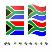 South Africa Flags