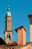 foto of vicenza  - The famous Clock Tower of Vicenza seen from the roof of a typical palace in the town