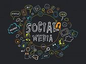 pic of status  - Collection of social media icons - JPG