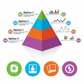 foto of human pyramid  - Pyramid chart template - JPG