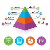 foto of pyramid shape  - Pyramid chart template - JPG