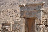stock photo of xerxes  - The Ruins of ancient Persepolis in Iran - JPG