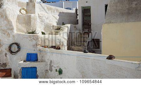 Traditional Greek Village Exo Gonia