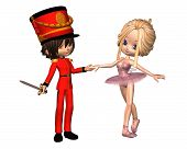Sugarplum Fairy und Nussknacker-Prinz