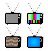 4 Ícones de Tv