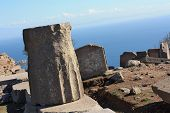View of the ruins, Assos