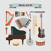 ������, ������: Set of Musical Instruments
