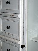 Antique White Cabinet