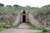 Klytemnestra Tholos Tomb, Mycenae