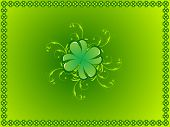 patricks day vector illustration abstract background