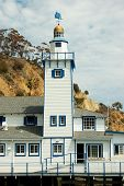 Yacht Club Tower, Avalon, Catalina Island, California