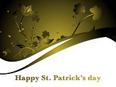 abstract st. patricks day non textual matter