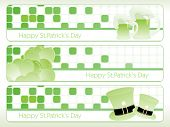 st. patrick's day theme banner