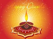 picture of lakshmi  - abstract artwork pattern background for diwali - JPG