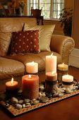 Sofa And Candles