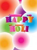 abstract colorful concept background for holi celebration