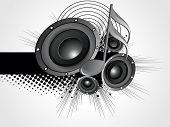 Resumen Antecedentes Grunge con vinilo, nota musical