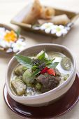 Kang Kiew Wan Neu - Beef Green Curry With Vegetables.