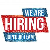 We Are Hiring Sticker Isolated We Are Hiring Tags. Jobs. Freelance. Jobs Tags. Hire Tags. Hiring Tag poster