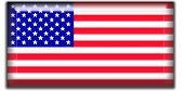Us Flag Square Icon