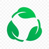 Biodegradable Recyclable Plastic Free Label Vector Icon. Eco Safe Bio Recyclable And Degradable Pack poster
