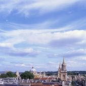 Oxford Stadt Skyline. England