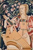 Medieval Tapestry Detail