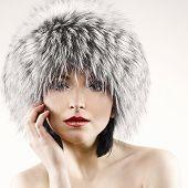 Fashion Portrait Of Beautiful Woman