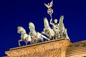 The Quadriga on top of the Brandenburger Tor