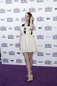 SANTA MONICA, CA - FEB 25: Joslyn Jensen at the 2012 Film Independent Spirit Awards on February 25,