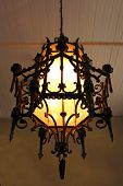 Antique Mexican Chandelier