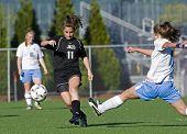 Meisjes Hs Varsity Soccer Reach