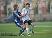 Jongens Hs Varsity Soccer balcontrole