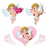 stock photo of little angel  - Cupid collection - JPG