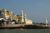 Southernmost Point Of India. Comorin Or Kanyakumari, Tamilnadu, India.