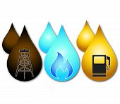 design business oil, gas, petrol