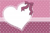 love frame scrapbook background